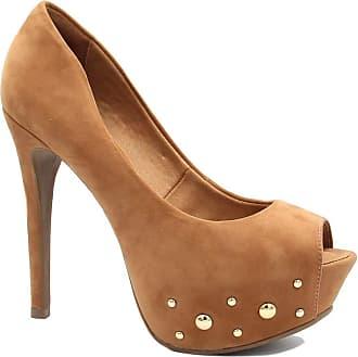 Zariff Sapato Zariff Shoes Peep Toe Salto Alto