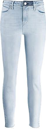 Rta Calça jeans skinny cintura média - Azul