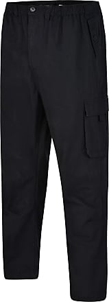 Espionage Cargo Trousers - Black- 5XL-29 Leg
