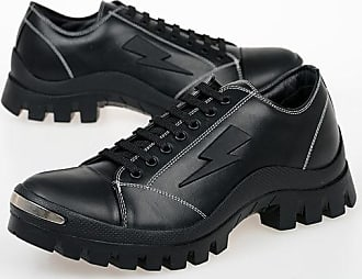 Neil Barrett Leather THUNDER BEANIE Sneakers size 42
