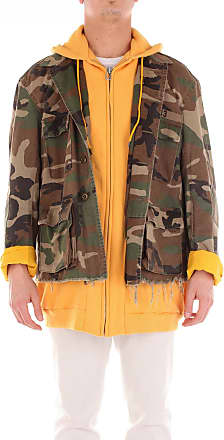 R13 Hoodies Camouflage and yellow