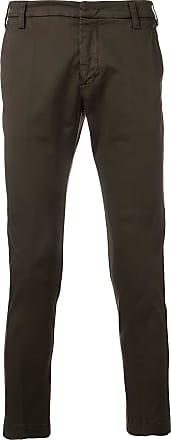 Entre Amis slim fit trousers - Marrom