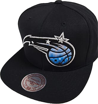 reputable site 54293 b9ff4 Mitchell   Ness NBA Orlando Magic 348VZ Easy Three Digital XL Snapback Cap  Black Kappe Basecap