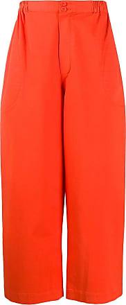 Henrik Vibskov Pantaloni Tanoi a gamba ampia - Di colore arancione