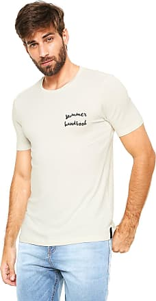 Handbook Camiseta Handbook Estampada Off-white