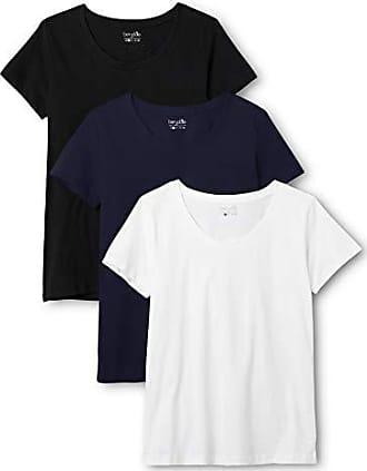 confezione da 3 in diversi colori Berydale T-shirt donna con scollo tondo