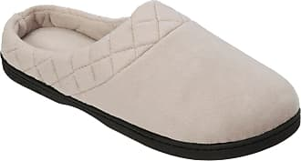 e15388d3a45 Dearfoams Womens Quilted Memory Foam Clog Slippers X-Large Beige