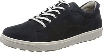 Jana Womens 8-8-23601-24 Low-Top Sneakers, Blue (Navy Suede 806), 7.5 UK