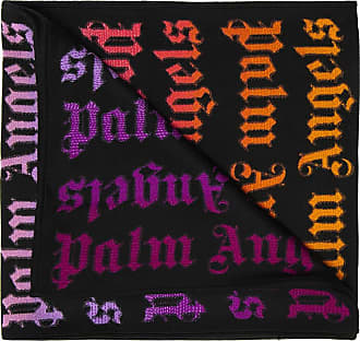 Palm Angels Logo Scarf Mens Multicolour