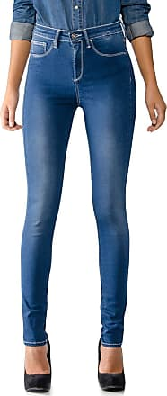 Tiffosi Vaqueros One Size High 3 High Skinny de U, Azul