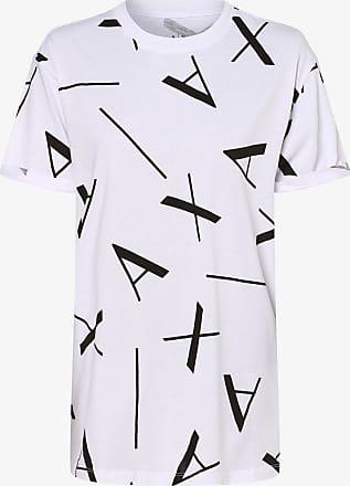 A|X Armani Exchange Damen T-Shirt weiss