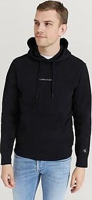Calvin Klein Jeans Hoodie Instit Chest Logo Reg Hoodie Svart