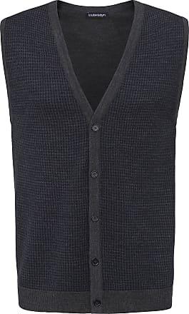Louis Sayn Waistcoat in 100% new milled wool by Biella Yarn Louis Sayn grey