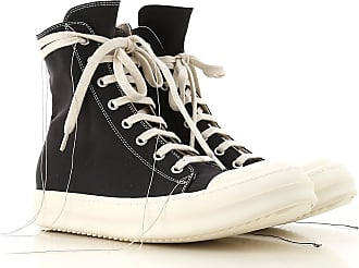 low priced 339b8 f6fc5 Rick Owens Sneaker Donna, Nero, tessuto, 2017, 36 37 38 39 40