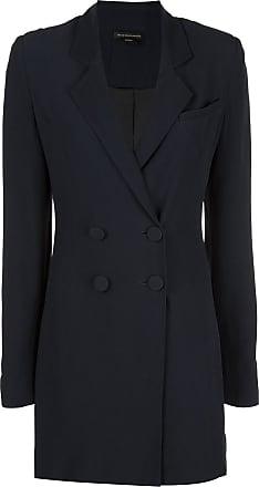 Kiki De Montparnasse tuxedo mini dress - Blue