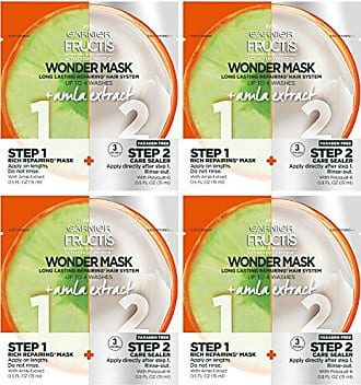 Garnier Hair Care Fructis Wonder Mask + Amla Extract, 4 Count