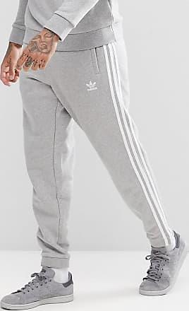 adidas Originals adicolor - Grå mjukisbyxor med 3 ränder CY4569 - Grå 6422b4b9c4c70