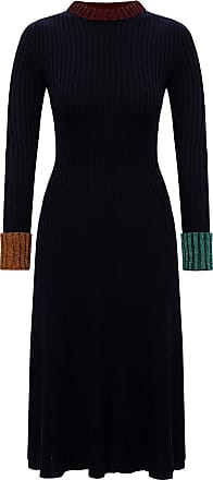 Lanvin Lurex Dress Womens Black