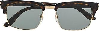 Cartier Óculos de sol C Décor CT0132S - Marrom