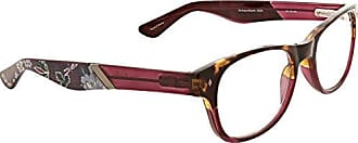 Vera Bradley Womens Courtney VBCOUR0ROP0R25 Wayfarer Reading Glasses, Bordeaux Blooms, 2.5