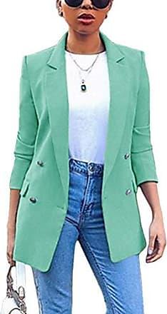 Damen Langarm Bodysuit Freizeit Slim Fit Knöpfe Jumpsuit Hemd Tops Bluse Overall