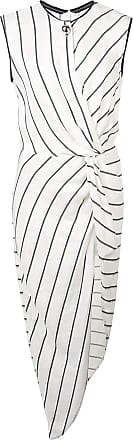Yigal AzrouËl knotted front tunic top - White
