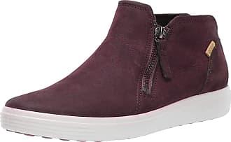 Ecco Ecco Womens Soft 7 Ladies Ankle Boots, Red (Bordeaux 1070), 7.5 UK (41 EU)