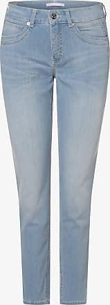 MAC Damen Jeans - Angela 7/8 blau