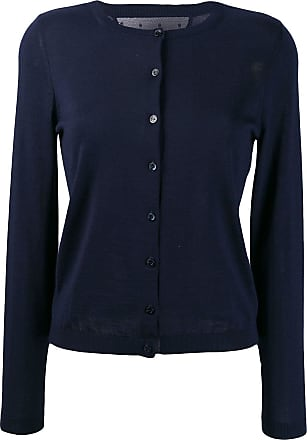 Red Valentino button-down cardigan - Azul