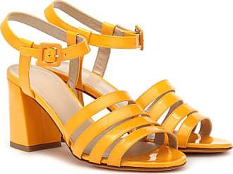 Maryam Nassir Zadeh Palma High patent leather sandals