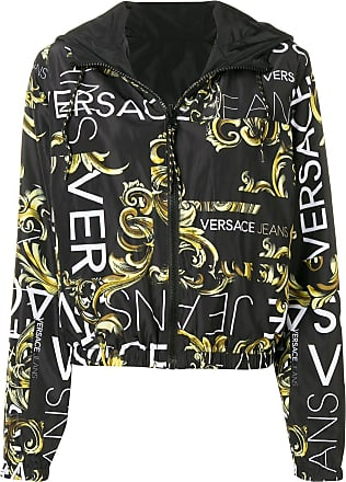 Versace Jeans Couture baroque print bomber - Black