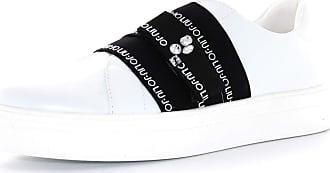 Liu Jo LIU JO GIRL shoes woman low sneakers 4A0741 EX014 S1400 ALICIA 36 size 35 White black