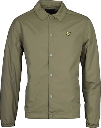 Lyle & Scott Lyle and Scott Mens Coach Jacket - M Lichen Green