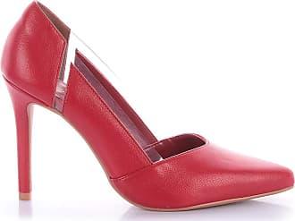 Di Valentini Scarpin Pollini 4032-05423 Napa Vermelho (Fenice Scarlet) Vermelho - 39