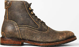 Two24 Mens Fairfax Boot in Asphalt Leather, D Medium Width, Size 12, by Two24