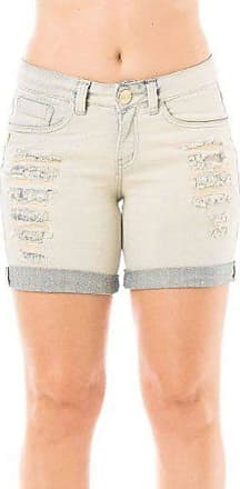 Eventual Shorts Jeans Feminino Middle Evt Barra Dobrada Eventual