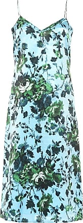 Erdem Vivianne floral satin dress