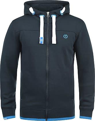 Solid Benjamin Zip Mens Sweater Zip Jacket, size:S;colour:Insignia Blue (1991)