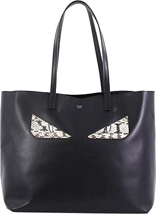 6f3a314874b6 Fendi Monster Roll Tote Leather With Python Medium
