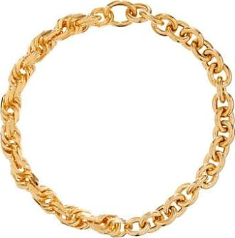 Bottega Veneta Chunky Twisted-link Gold-plated Necklace - Womens - Yellow Gold