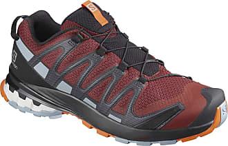 Salomon Salomon Mens Trail Running Shoes, XA PRO 3D v8, Colour: Red (Madder Brown/Ebony/Quarry), Size: UK size 11.5