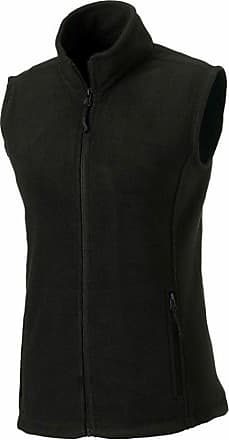 Russell Athletic Russell Womens Outdoor Fleece Gilet Black XXL