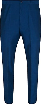 Relco Blue Two Tone Tonic Sta-Press Trousers Size 36