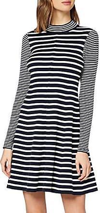 Tommy Hilfiger Heritage Slim Polo Dress Robe Femme, Bleu (Midnight 403), Small