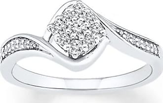 Kay Jewelers Promise Ring 1/4 ct tw Diamonds Sterling Silver