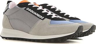 Dsquared2 Sneaker für Herren, Tennisschuh, Turnschuh Günstig im Sale, Grau, Wildleder, 2019, 40 41 41.5 42 42.5 43 44 45