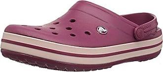 b2ad3cffd377 Crocs Unisex-Erwachsene Crocband U Clogs Rot (Pomegranate Rose Dust 6or) 42