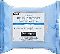 Neutrogena Fragrance Free Makeup Remover Cleansing Towelettes 25ct