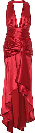 Alexandre Vauthier Stretch-silk satin dress