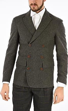 Corneliani CC COLLECTION giacca doppiopetto RESET in tweed taglia 52